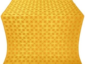 Pokrov silk (rayon brocade) (yellow/gold)