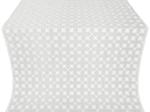 Pokrov silk (rayon brocade) (white/silver)