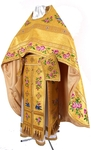 "Russian priest vestments 42-44""/5'5""-5'8"" (54-56/168-172) #393 embroidered"