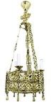 Church chandelier (khoros) - 36 (3 lights)
