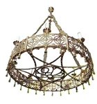 Church chandelier (khoros) - 38 (8 lights)