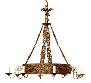 Church chandelier (khoros) Don-1 (8 lights)