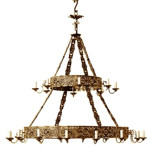Church chandelier (khoros) Don-2 (24 lights)