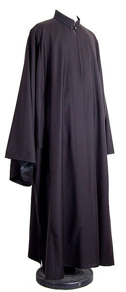 "Greek ryasson (cassock) 42-43""/5'7"" (54/170) #163 embroidered"