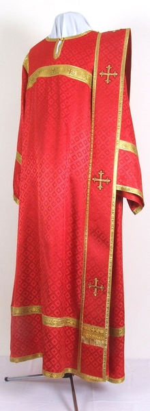 "Deacon vestments 45""/6' (58/182) #136 - 30% off"