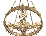 Church chandelier (khoros) - 34 (12 lights)