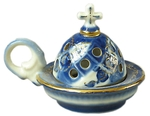 Church porcelain incense burner - 1349
