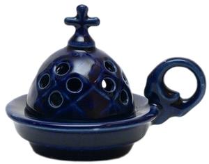 Church porcelain incense burner - 1353