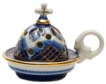 Church porcelain incense burner - 1354