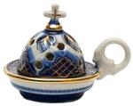 Church porcelain incense burner - 1354