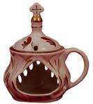 Church porcelain incense burner - 1362