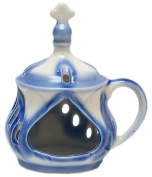 Church porcelain incense burner - 1363