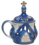 Church porcelain incense burner - 9004