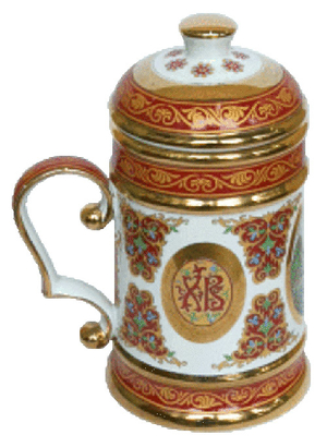Christian mug (0.8 L) - 1214