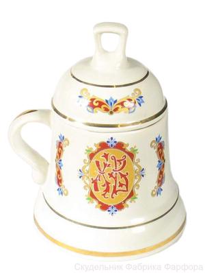 Christian bell-mug (0.2 L) - 1222