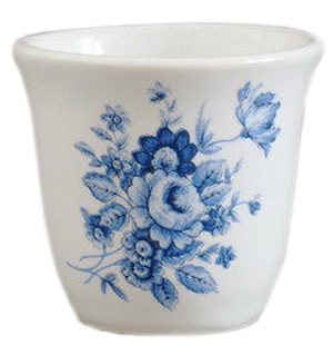 Porcelain glass for Holy water - 2303