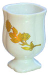 Porcelain glass for Holy water - 2431