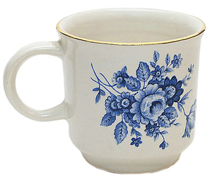 Porcelain cup for Holy water - 2728