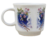 Porcelain cup for Holy water - 2729
