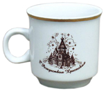 Porcelain cup for Holy water - 5739