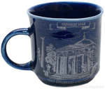 Porcelain cup for Holy water - 7954