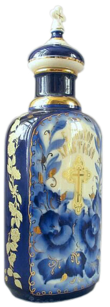 Porcelain Vessel for Holy water (0.6 L) - 2148