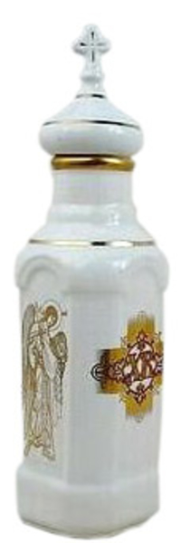 Porcelain Vessel for Holy water (0.5 L) - 5489