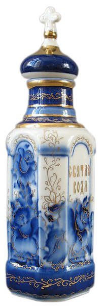 Porcelain Vessel for Holy water (0.5 L) - 5763