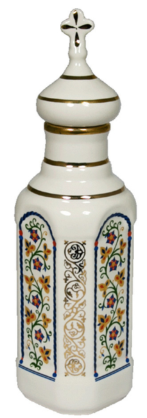 Porcelain Vessel for Holy water (0.5 L) - 8267