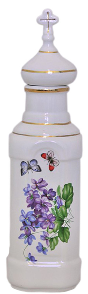 Porcelain Vessel for Holy water (0.5 L) - 8430