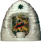 Porcelain Nativity scene  - 8434