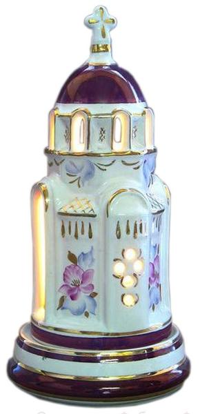 Christian vigil temple-lamp - 2610