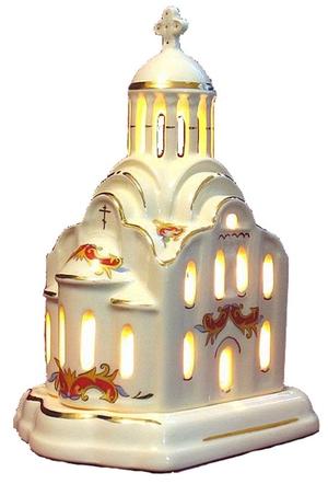 Christian vigil temple-lamp - 2615