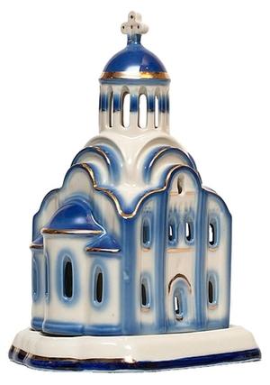 Christian vigil temple-lamp - 2617
