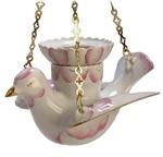 Porcelain vigil lamp - 6490