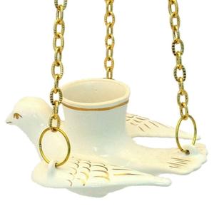 Porcelain vigil lamp - 8489