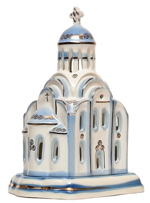 Christian vigil temple-lamp - 8885