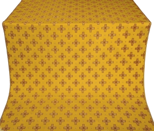 Bishop silk (rayon brocade) (yellow/gold)