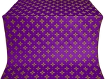 Bishop silk (rayon brocade) (violet/gold)