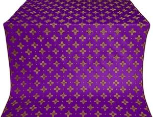 Bishop silk (rayon brocade) (violet/gold)