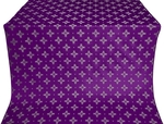 Bishop silk (rayon brocade) (violet/silver)