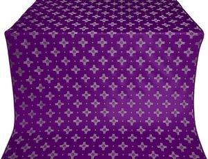 Bishop silk (rayon brocade) (violet/silver)
