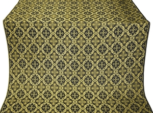 Nikolaev metallic brocade (black/gold)