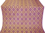 Nikolaev metallic brocade (violet/gold)