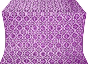 Nikolaev metallic brocade (violet/silver)