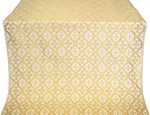 Nikolaev metallic brocade (white/gold)