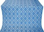 Nikolaev silk (rayon brocade) (blue/silver)