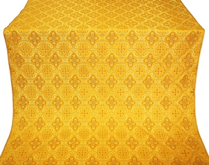 Nikolaev silk (rayon brocade) (yellow/gold)