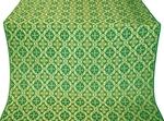 Nikolaev silk (rayon brocade) (green/gold)