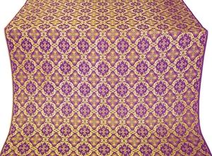 Nikolaev silk (rayon brocade) (violet/gold)
